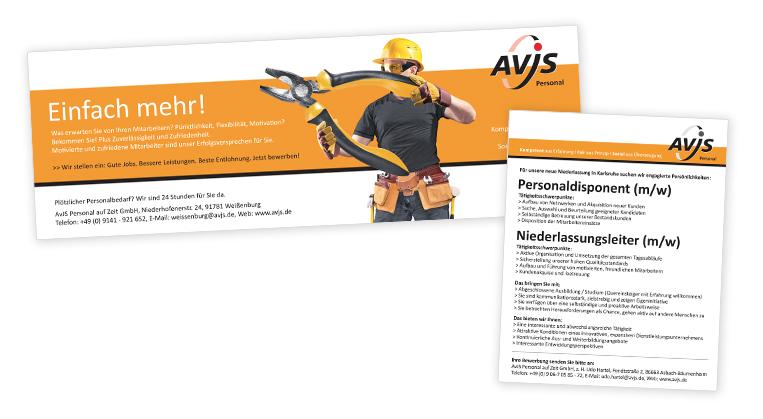 Werbeagentur Augsburg AvJS Anzeigen