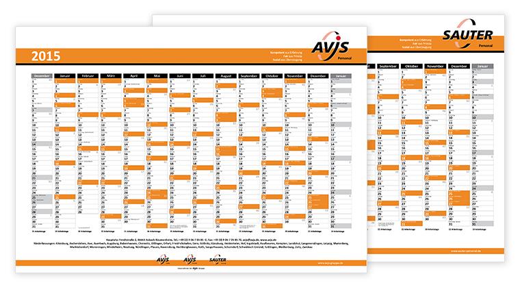 Werbeagentur Augsburg AvJS Jahresplaner