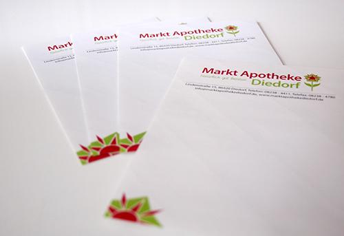 Werbeagentur Augsburg Diedorf Apotheke - Bild 2